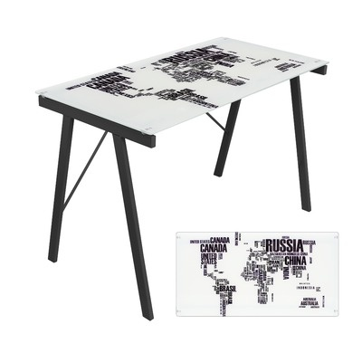 102 best loved desks images on pinterest home office home lumisource world map office writing desk gumiabroncs Images
