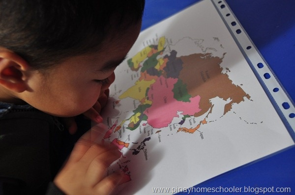 Montessori Geography: Continent of Asia activities and printables