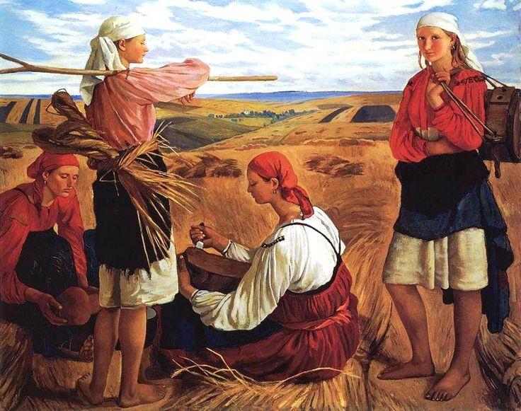 Zinaida Serebriakova - Harvest