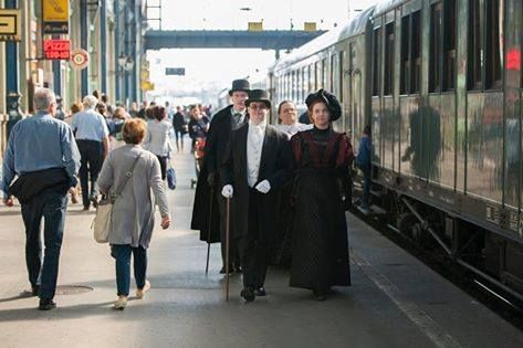 Gőzfelhős nosztalgia vonatozás a Dunakanyarban 2016