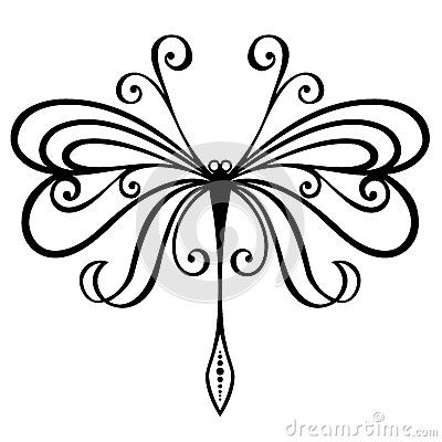 simple dragonfly clipart - Google Search