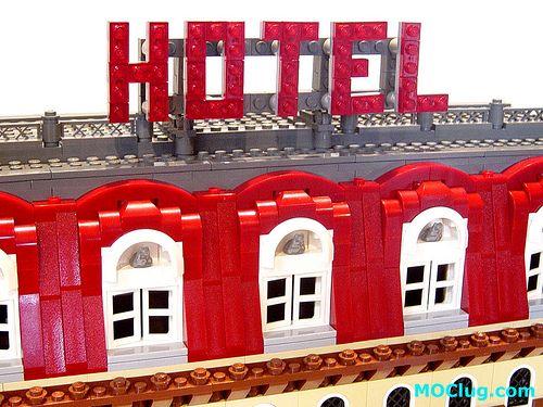 LEGO 10182 Cafe Corner straightened modification | The origi… | Flickr