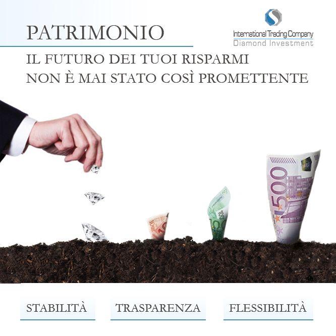 https://itcportale.it/?p=9077  Diamond Investment - Perchè investire ? Investi nel tuo futuro. Vuoi saperne di più ?  http://www.investimentodiamanti.com