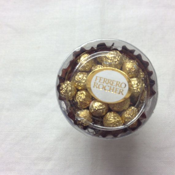 Box of Chocolates Ring Ferrero Rocher Ring Tiny by Jellyfishjools