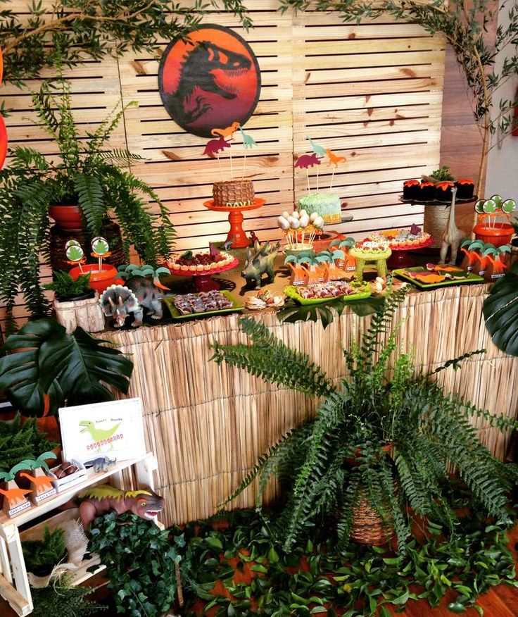 243 Best Images About Dinosaur Theme Party Ideas On