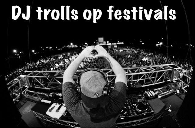 Je staat lekker te dansen op de vetste muziek van jou favoriete dj, de beat wordt opgebouwd, jij bent klaar om helemaal los te gaan op de drop, maar dan...  #dj #trolls #crowd #festival #set #fail #funnymoments