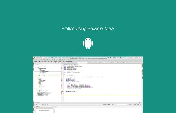 Menggunakan RecyclerView Android (Parsing Json To RecyclerView)