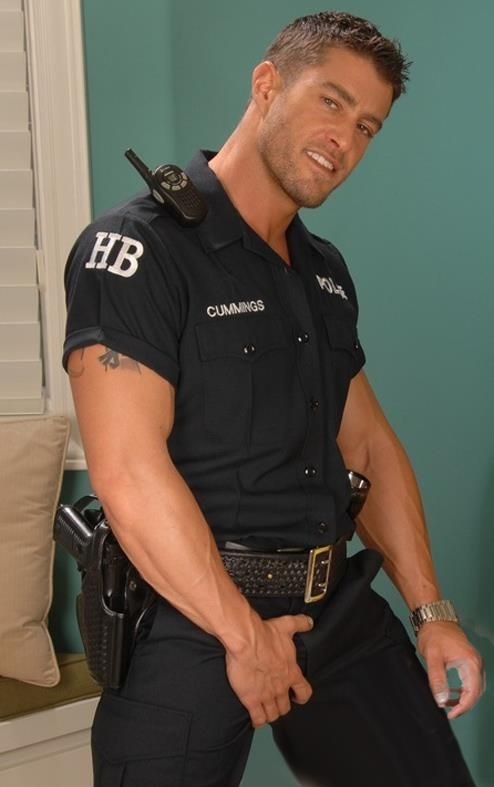 police Sexy officer man