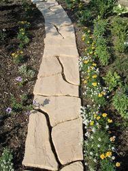 Wetcast Flagstone Patio Block Yard Garden Ideas Pinterest Patio Flagst