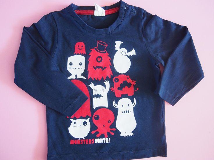 """""""Straszna"""" bluzka :)   #dzieci #dziecięce #ubranka #ciuszki #dziecięca #odzież #moda #modadziecięca #bluzka #bluzeczka #DziecioCiuszek"""