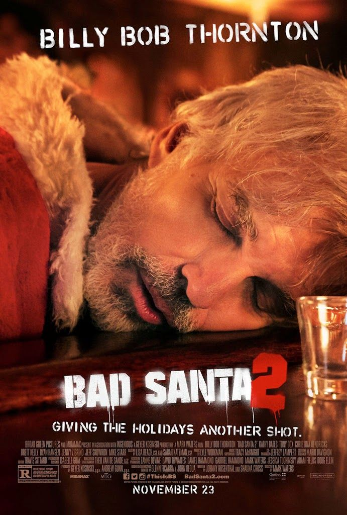 BAD SANTA 2 movie poster No.2