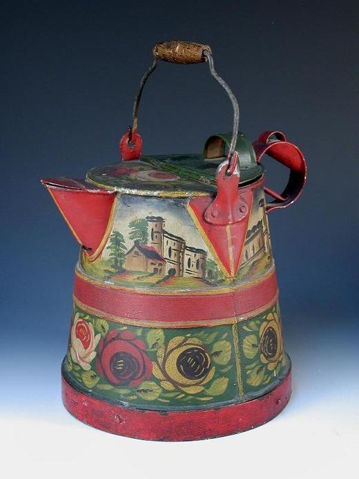 Vintage bargeware water carrier
