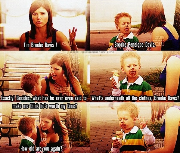 Sophia Bush (Brooke Davis-Baker) & Jackson Brundage (James Lucas Scott) - One Tree Hill