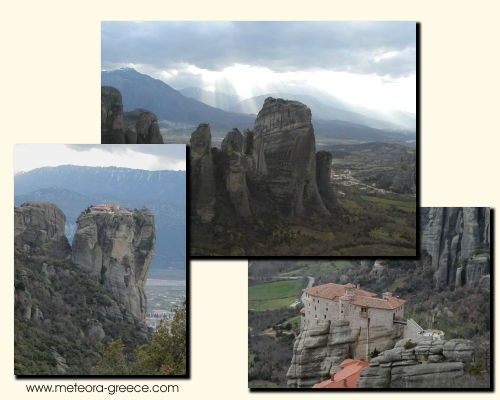 Meteora is just a train ride from Athens!  The floating monasteries of meteora are a magical sight to behold!