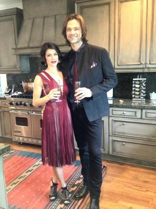 Toasting to the PCAs and they look gorgeous!