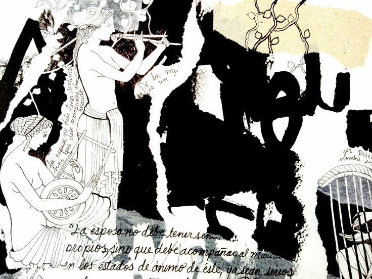 Te ofrecemos un regalo ideal y original para Papás amantes del arte, para lucir en su #estudio #oficina, estos hermosos #dibujos inspirados en la mujer griega, aquellas silenciosas compañeras cuya condición es para muchas aún hoy, una herencia. El precio depende del tamaño de desees.
