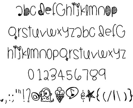 JambaJuicy font by Des - FontSpace