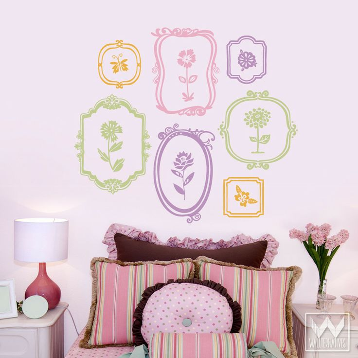 40 best Frame It! (Wall Decor) images on Pinterest | Wall decals ...