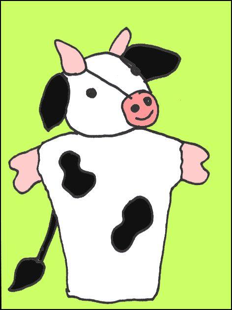 Poppenkastverhaal: Klaartje koe