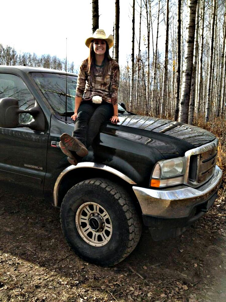For my pinners! Me and my truck out in the Peace Country, Alberta, Canada. Xo Happy pinning!