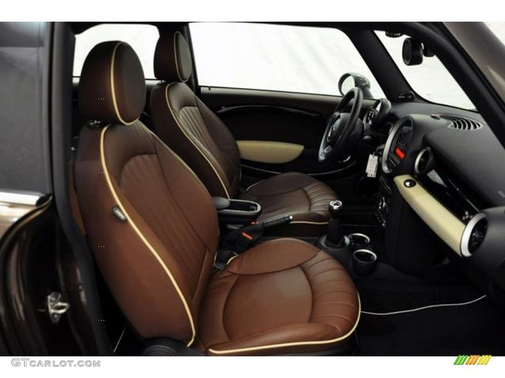 Hot Chocolate Lounge Leather Interior 2011 Mini Cooper John Cooper Works Clubman Photo #54948107