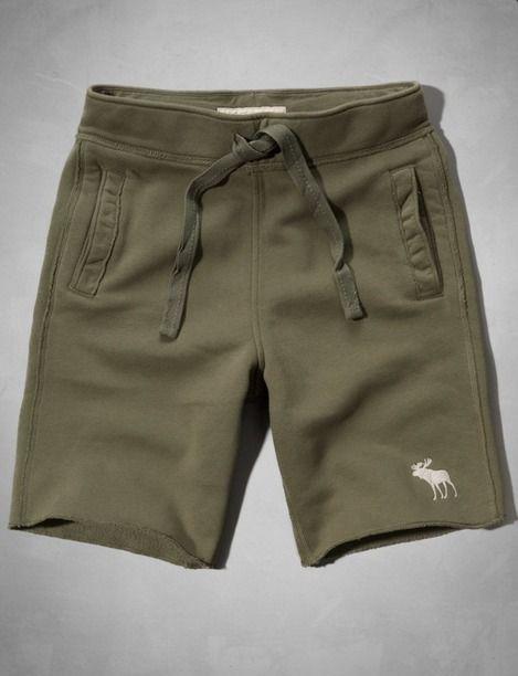 Abercrombie Fleece Shorts