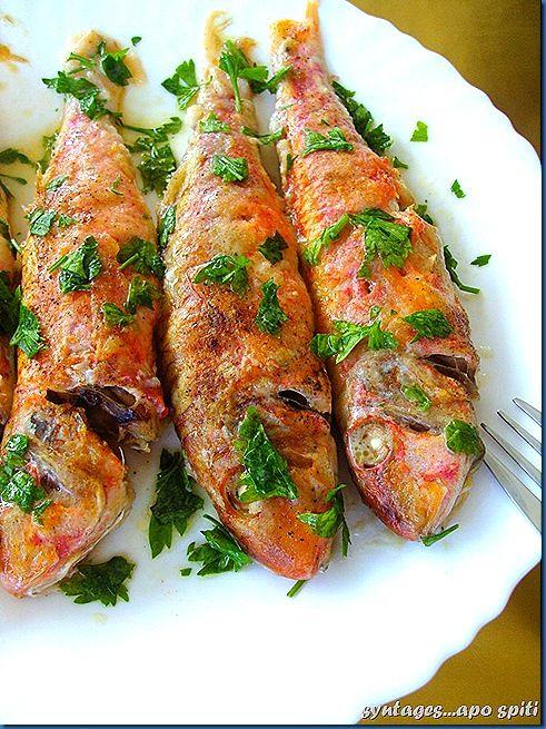 Mediterranean Living| Serafini Amelia| Greece-Μπαρμπούνια λεμονάτα στο φούρνο