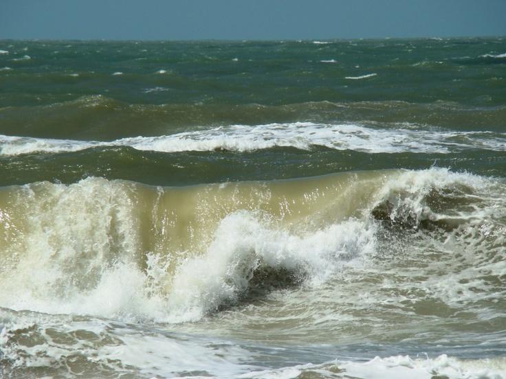 Englewood Beach, Manasota Key Florida showing the huge waves, courtesy of Hurricane Isaac. Pic taken on 08.29.12