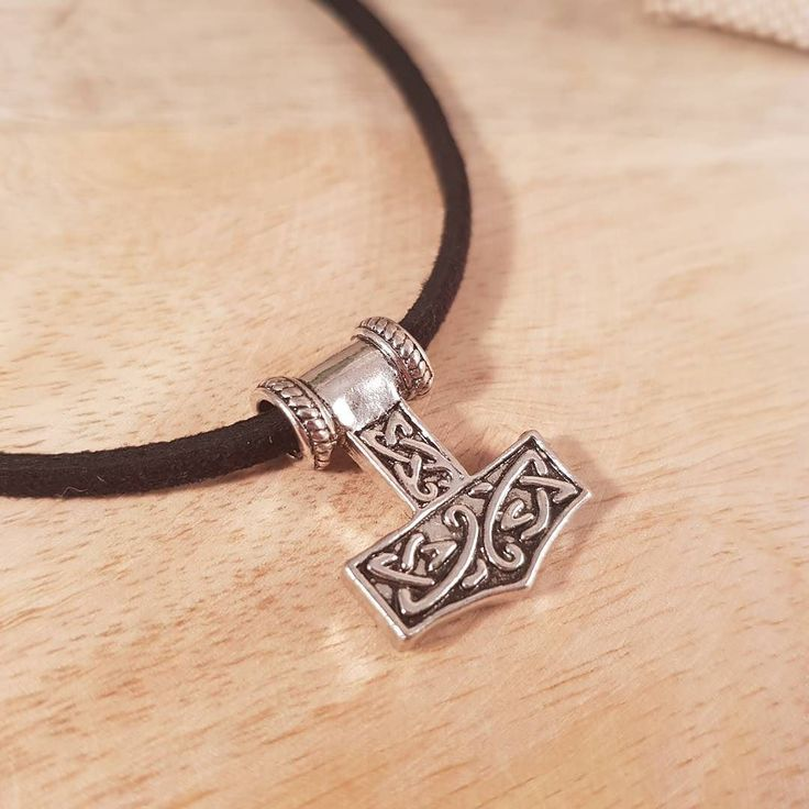 Everyone needs a #mjolnir pendant! Find me on Etsy link in profile  #thorshammer #viking #norse #thor #shopsmall #shoplocal #etsyshop