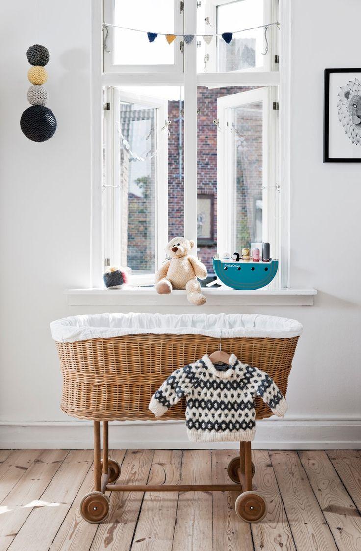 basket crib, nursery