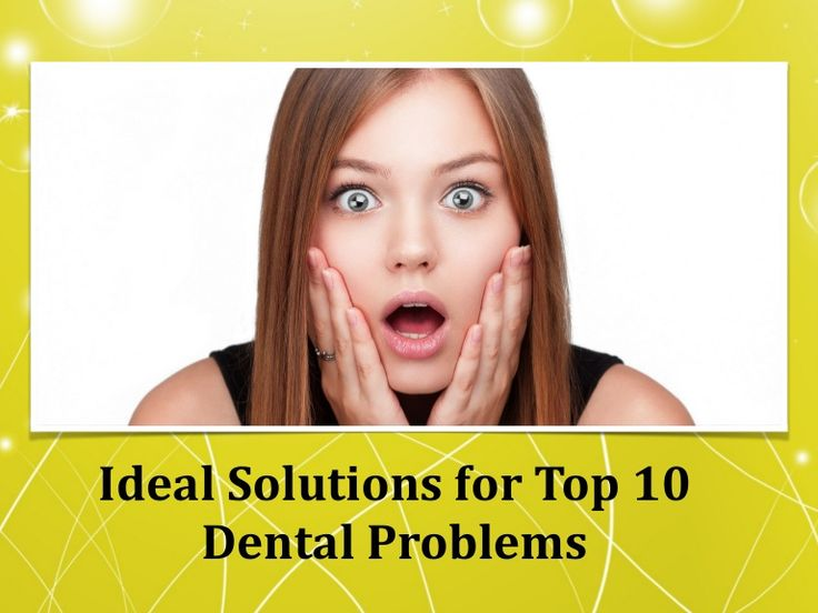 Ideal solutions for top 10 dental problems http://allsmilesdentalpractice.com.au/