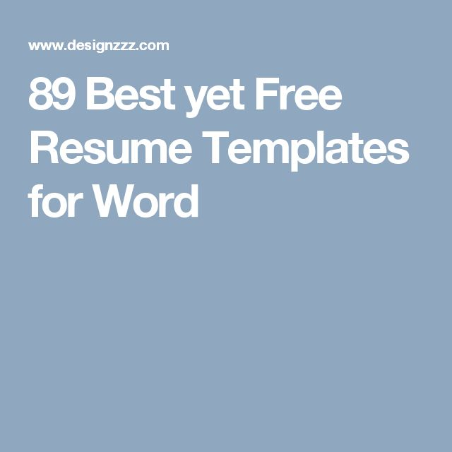 60 best fierce images on Pinterest Resume tips, Resume ideas and - google document resume template