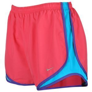 Nike Tempo Short - Women's - Running - Clothing - New Green/Tropical Twist/Team Red