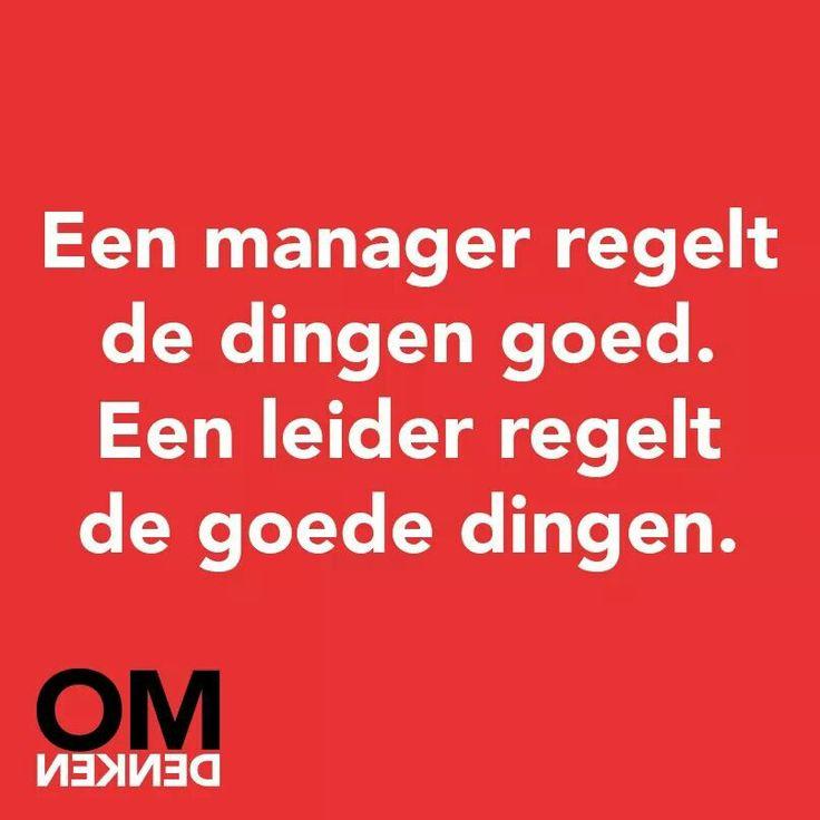 Leiderschap management