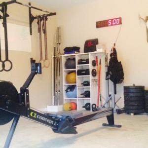 Trainingsgerate Garage Makeover Ideen Arbeitsbereiche Fitness Studio Home Studios Schritt Gym Decor Garages