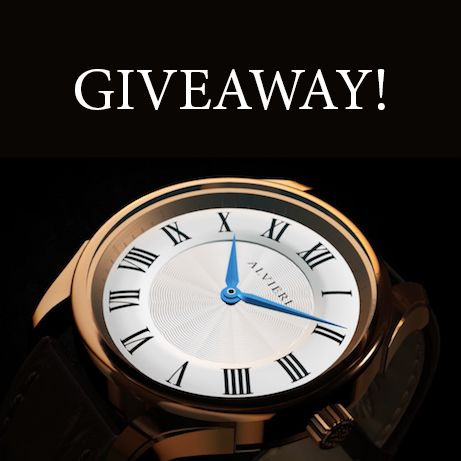 Want to WIN this Alvieri watch (ERV: $250)? I just entered and you can too. It is built with a sapphire crystal, a Swiss Parts movement, and an Italian leather strap. Giveaway ends March 15th.