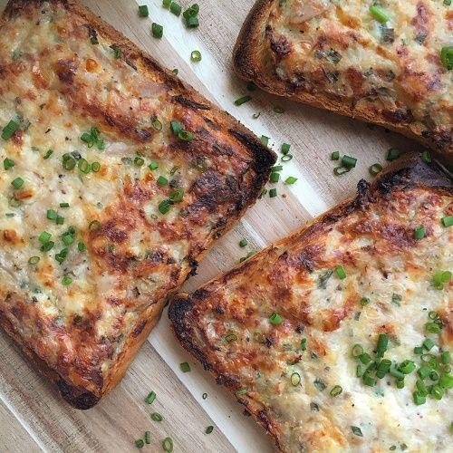 Greenway36: Schlemmertoast mit Thunfisch-Käse-Schmandcreme