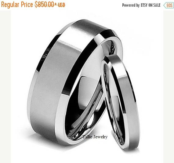 ON SALE His & Hers Wedding RingsMatching Wedding Bands14K