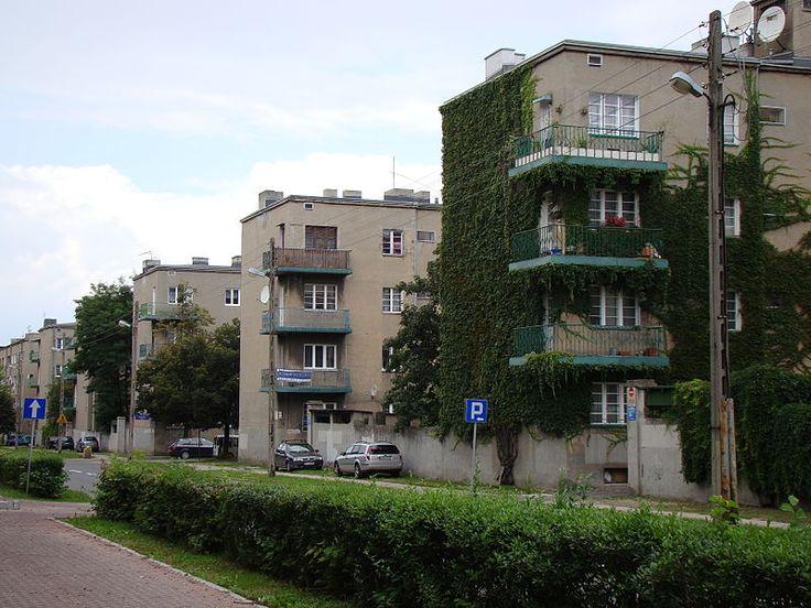 The Housing Estate Józefa Montwiłła-Mireckiego,1928–1931, by J. Berliner, J. Łukasik, M. Słońska, W. Szereszewski