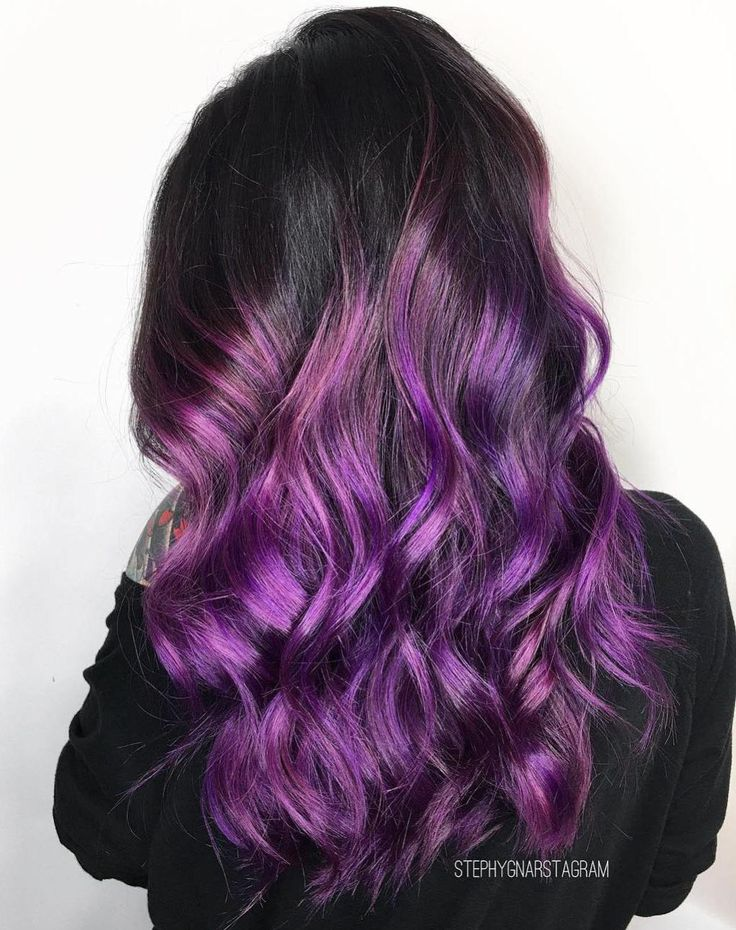 17 best ideas about purple balayage on pinterest ombre. Black Bedroom Furniture Sets. Home Design Ideas