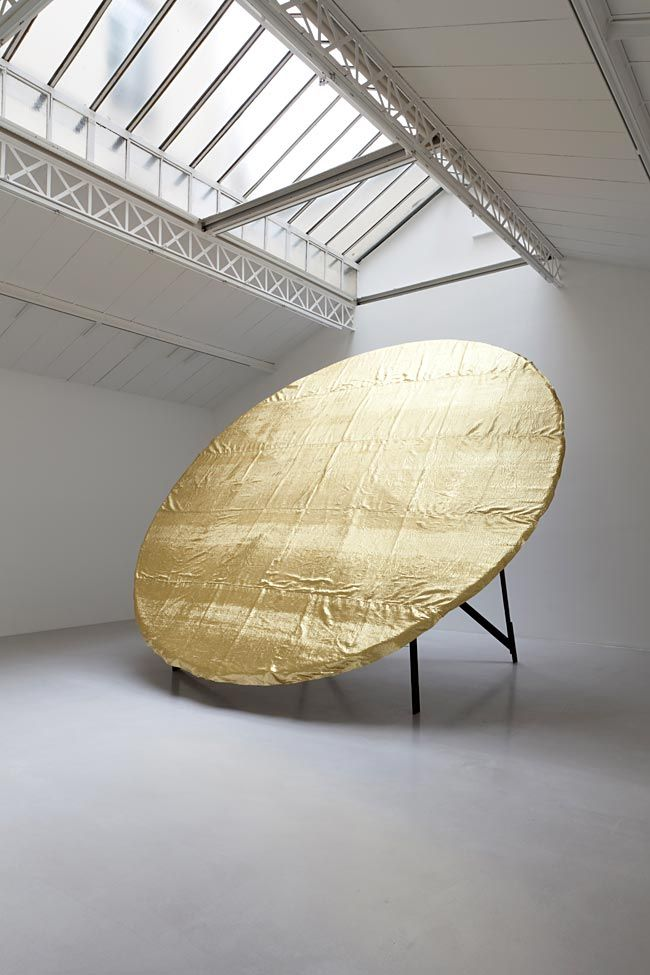 // James Lee Byars  Like the idea of one big mirror