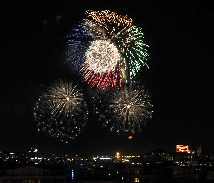 fourth of july fireworks history