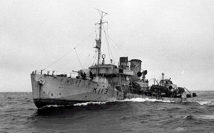 HMCS ARVIDA K113