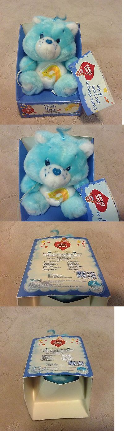 Vintage 165956: Vintage Nib Care Bears 1984 Wish Bear Kenner 6 Plush Stuffed Animal Toy Box -> BUY IT NOW ONLY: $45 on eBay!