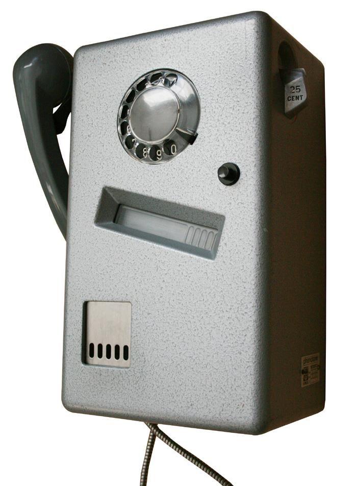 Telefoon uit telefooncel
