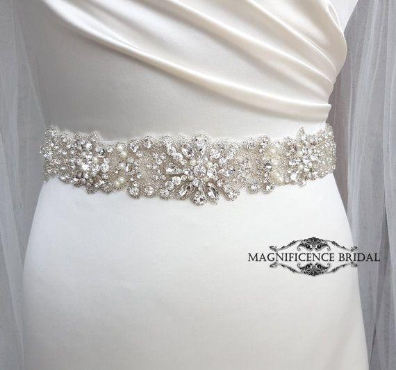 Bridal belt, wedding belt, bridal sash, rhinestone belt, wedding dress belt, bridal accessories, sash belt, beaded bridal sash, wedding dress sash, bridal belts, wedding sash belt, crystal belt, bridal trim