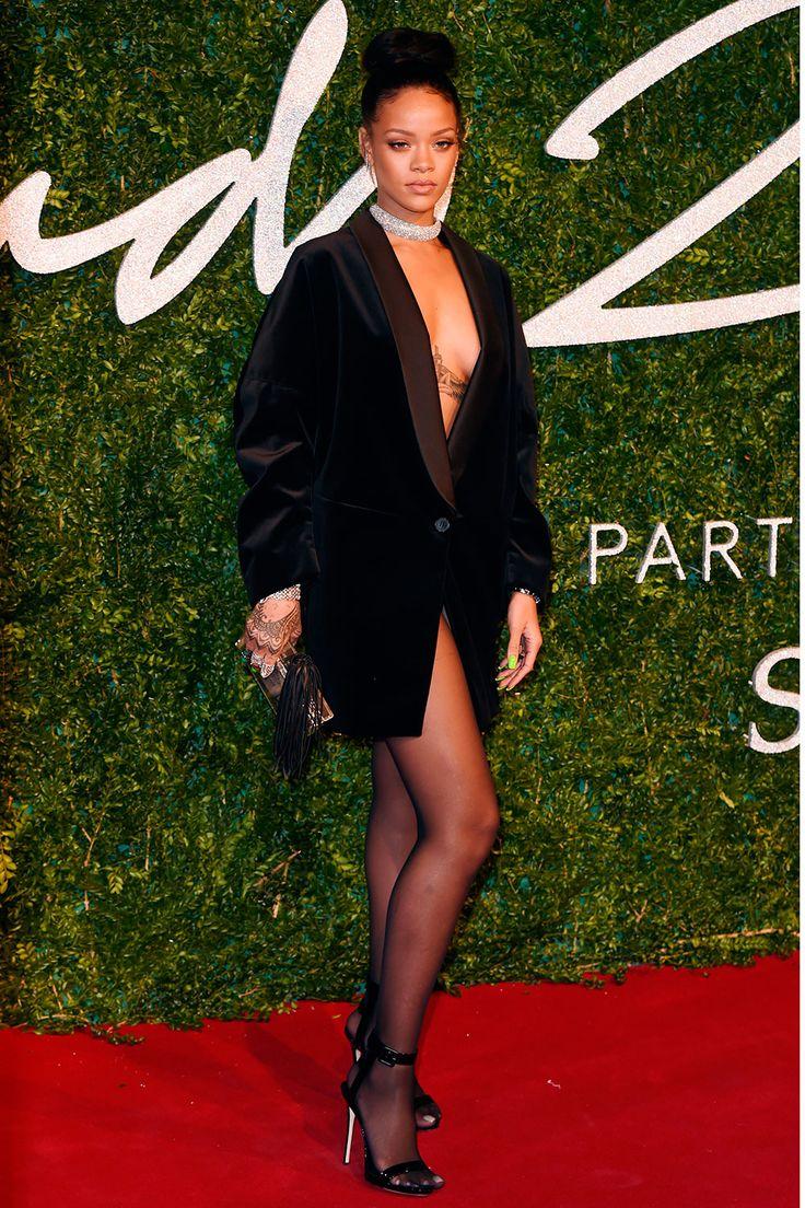 Rihanna in Stella McCartney at British Fashion Awards 2014 |