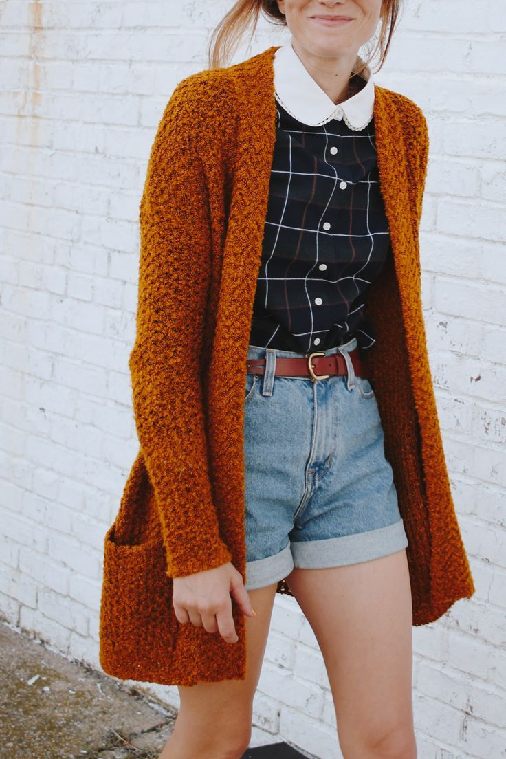 Easy Fall Look - It's tough to remain stylish during the transitional months when one day is warm and the next is 50 degrees!
