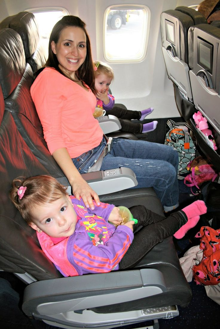 Traveling On A Plane With Twins