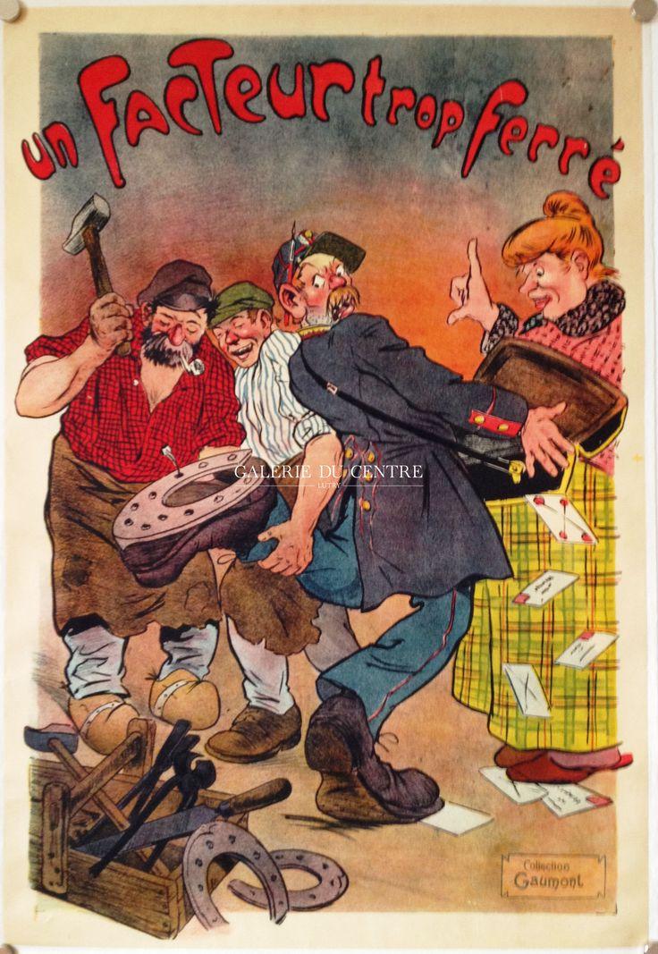 Cirque - Théatre : Affiche collection Gaumont vers 1900
